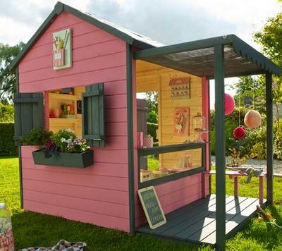 Cabane de jardin fille