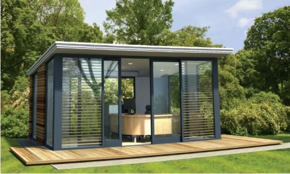 cabane de jardin design jardin. Black Bedroom Furniture Sets. Home Design Ideas