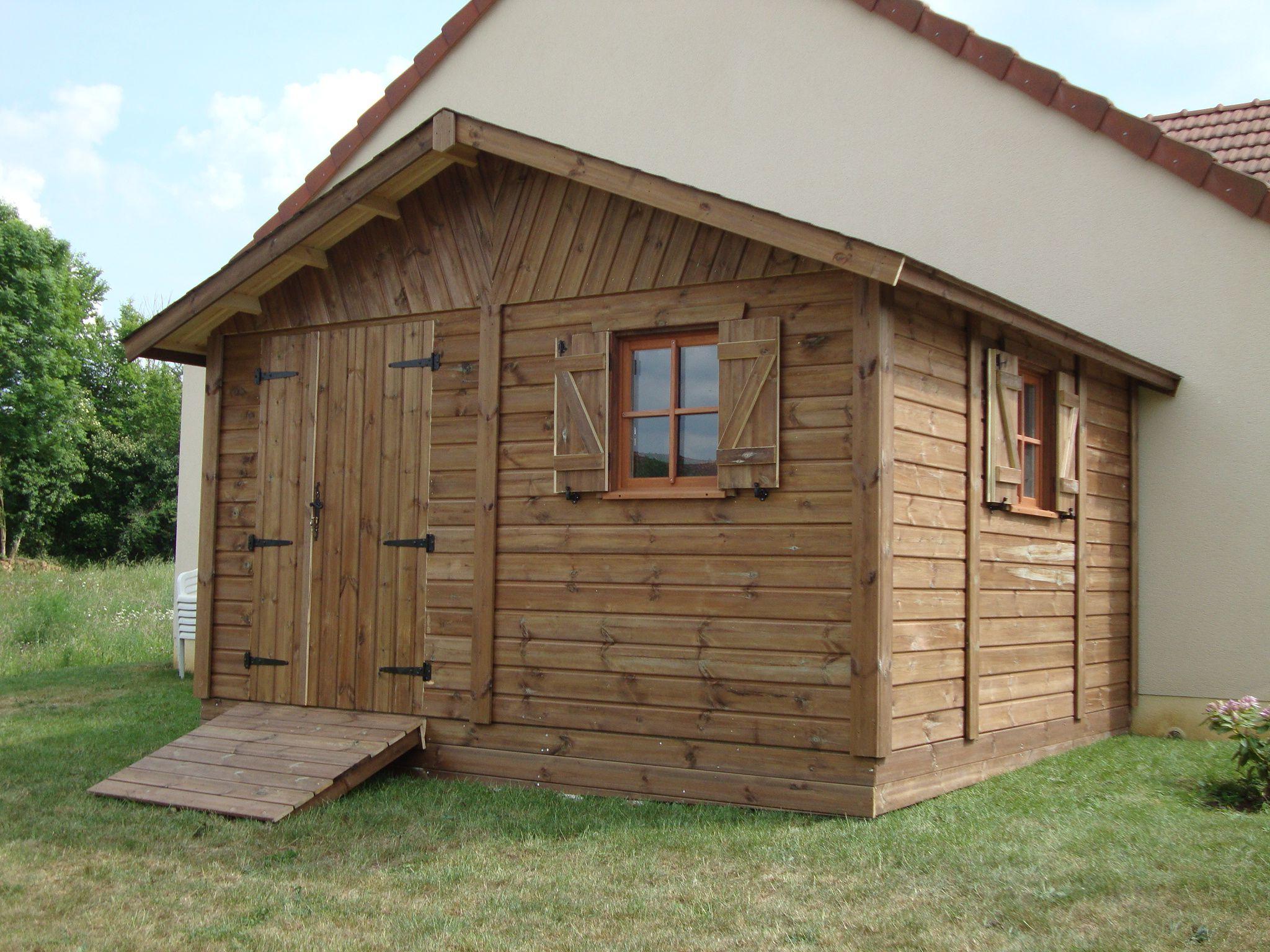 Cabane de jardin autoclave - Mailleraye.fr jardin
