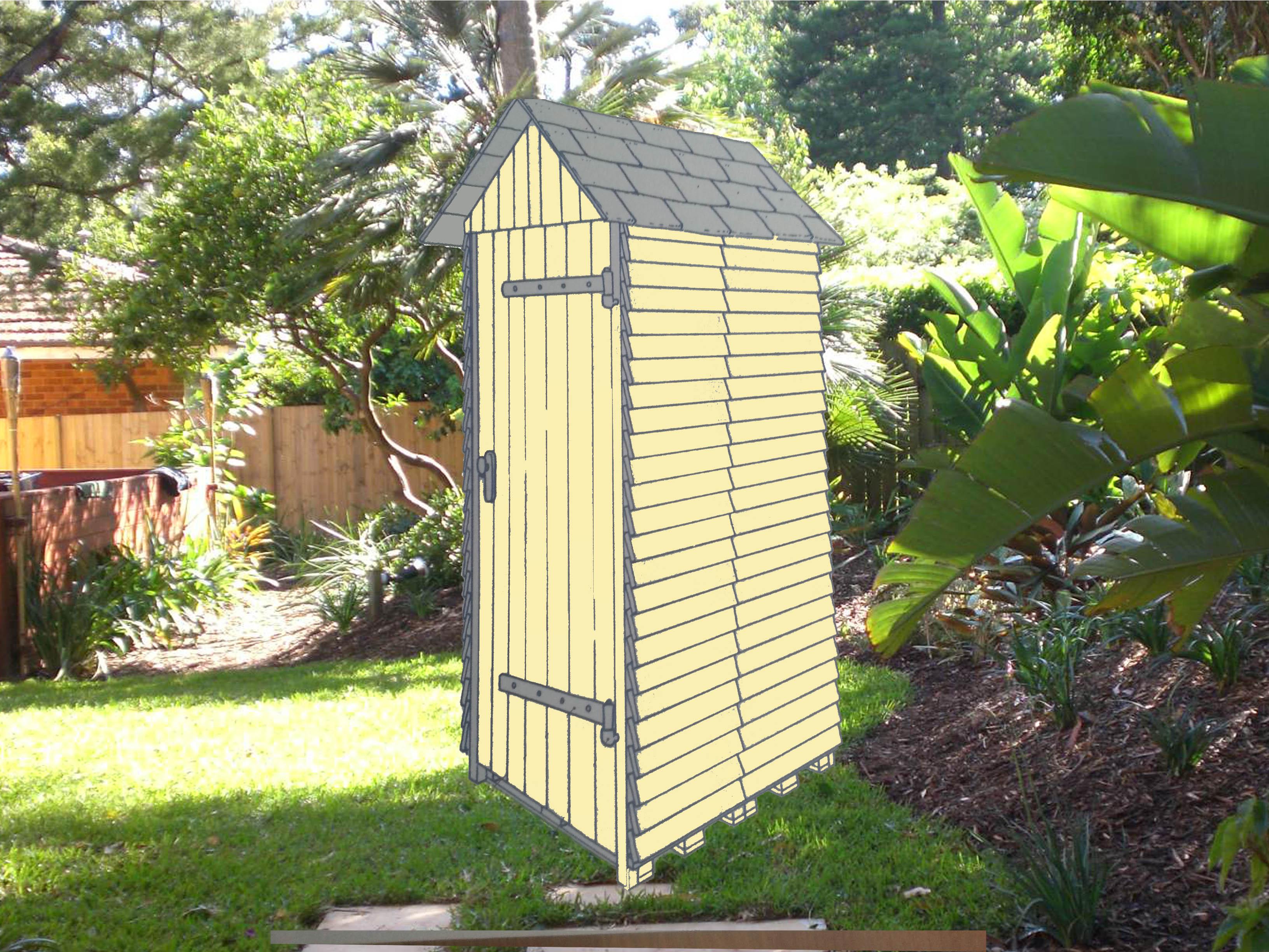 Construire une cabane de jardin pas cher