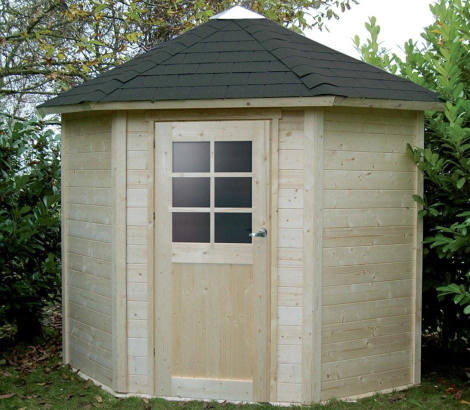 Cabane de jardin d\'angle - Mailleraye.fr jardin