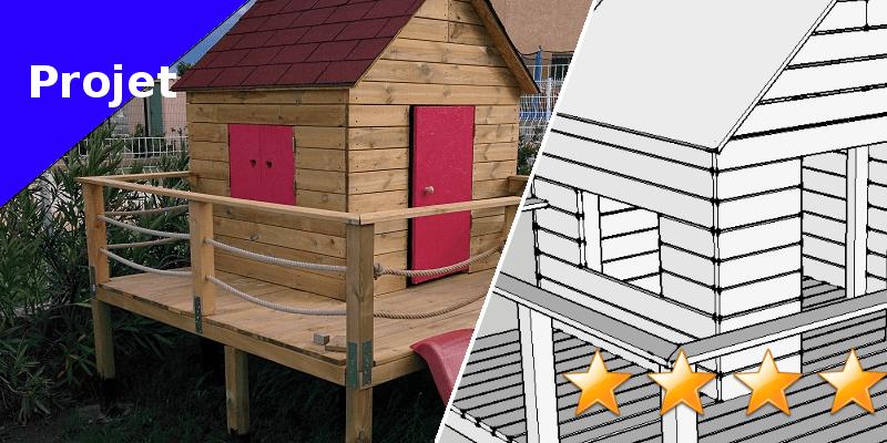 Comment fixer une cabane sur pilotis