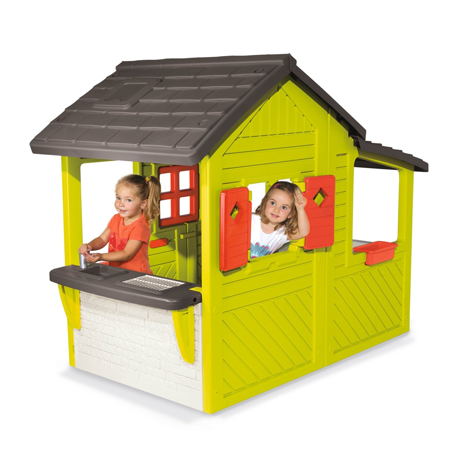 Cabane trappeur smoby