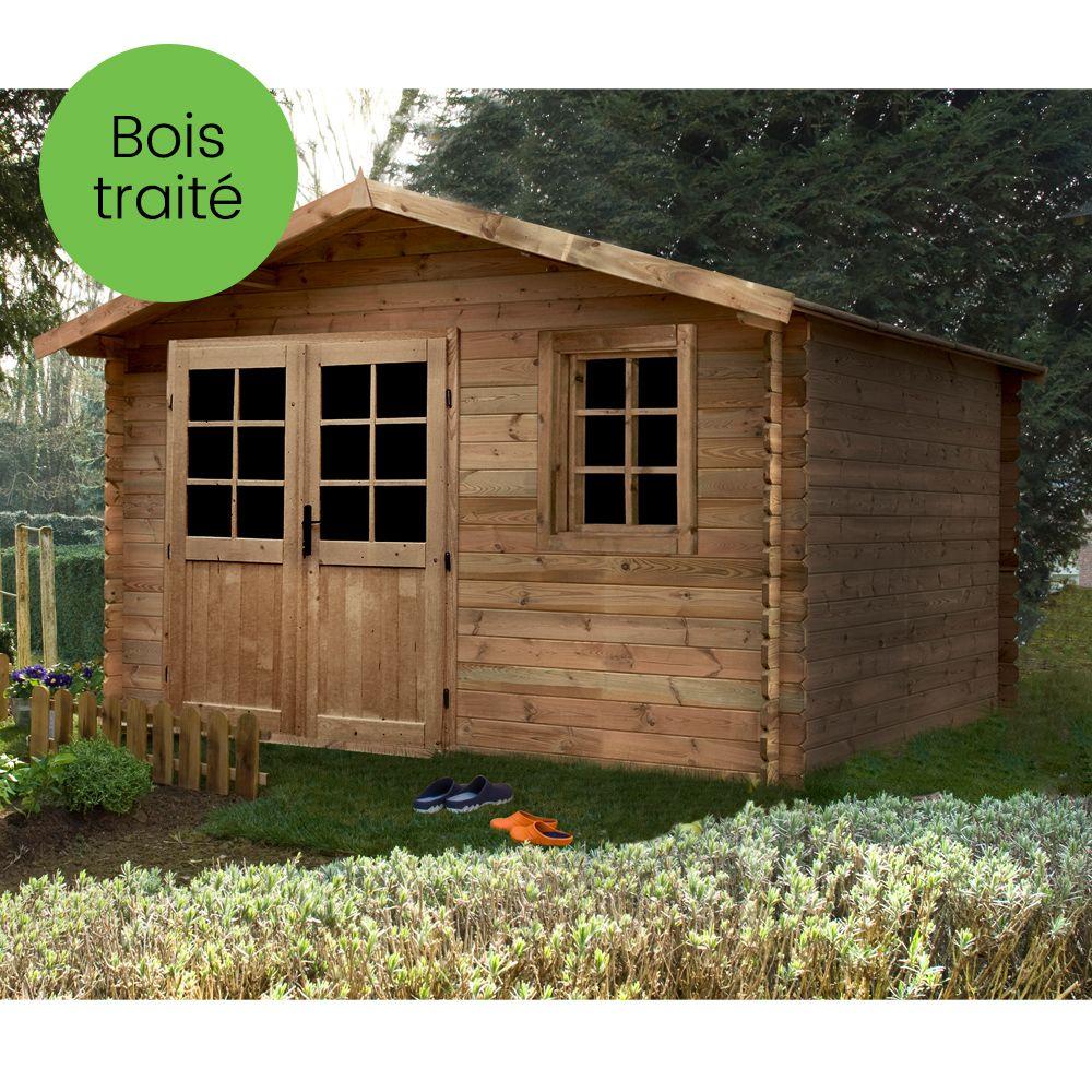 Abri de jardin quel bois choisir - Mailleraye.fr jardin