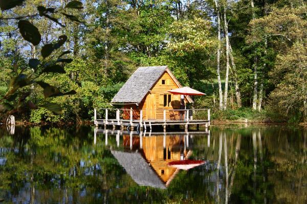 Cabane sur l'eau nord est