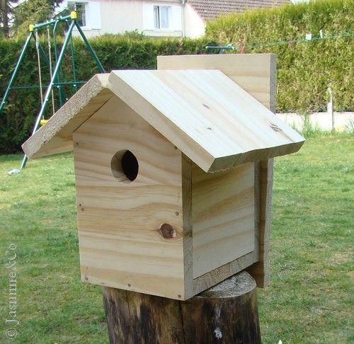 cabane oiseau orientation jardin. Black Bedroom Furniture Sets. Home Design Ideas
