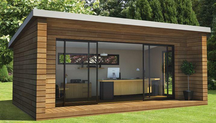 Abri de jardin habitable design - Mailleraye.fr jardin