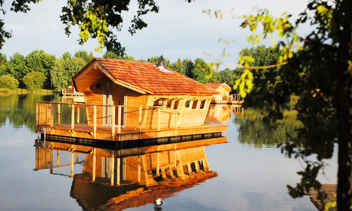 Cabane sur l'eau groupon