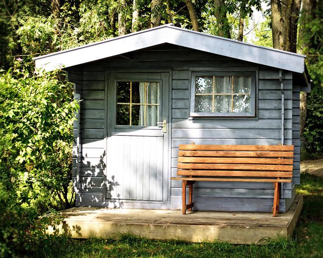 Cabane de jardin style anglais