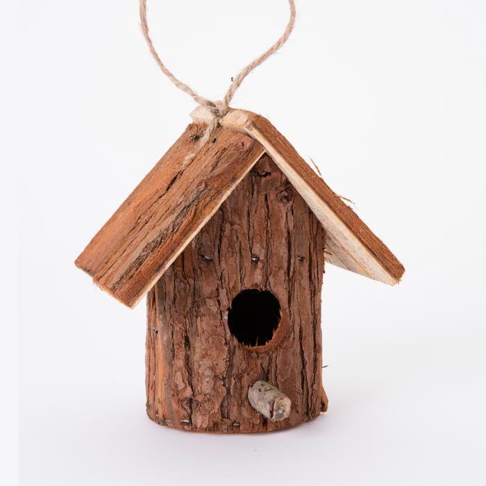 Taille cabane a oiseaux