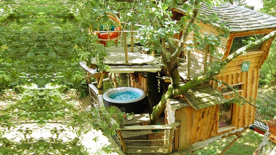Cabane arbre tarnos