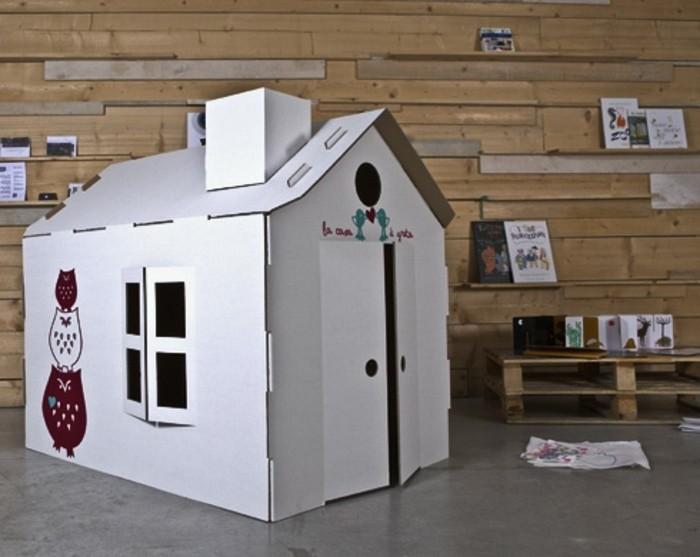 Realiser une cabane en carton