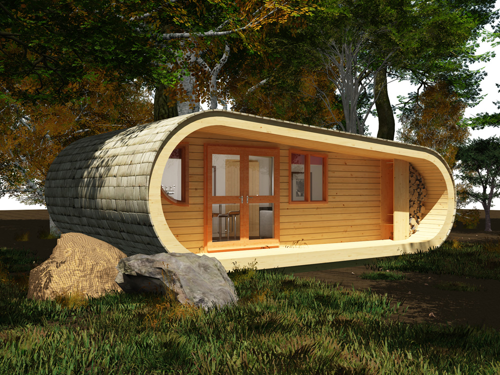 Cabane de luxe dans les arbres france