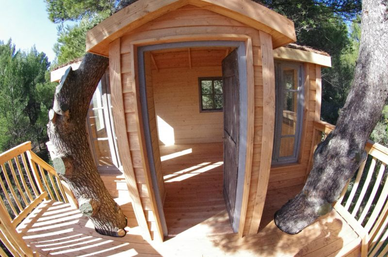 Cabane arbre luberon