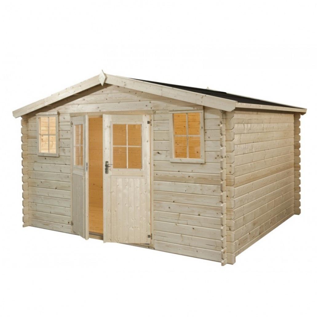Cabane en bois mr bricolage - Mailleraye.fr jardin