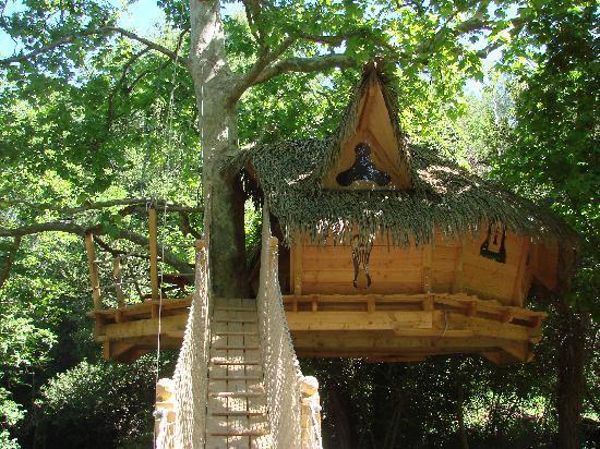 Week end insolite cabane dans les bois