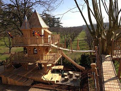 Cabane dans les arbres bouches du rhone