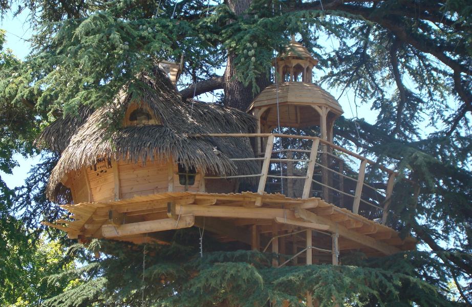 Louer une cabane dans les arbres en ile de france