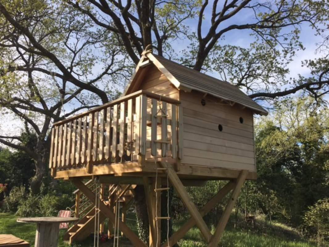Cabane dans les arbres fabricant