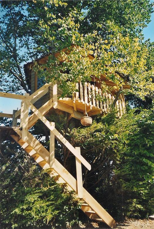 Cabane dans les bois gard
