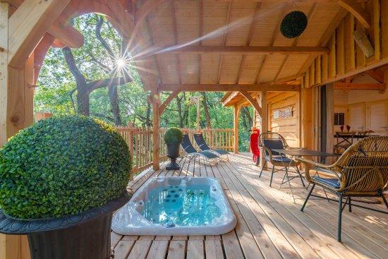 Cabane arbre clairac
