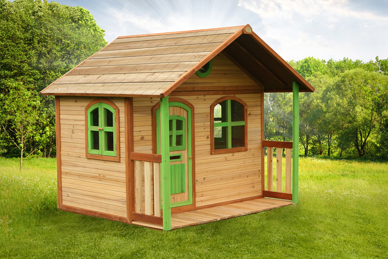 Cabane en bois wavre