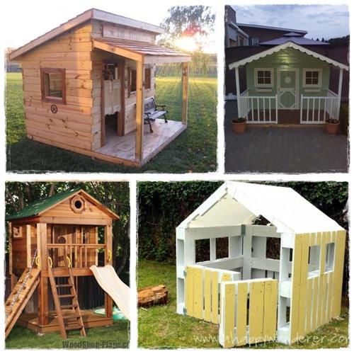 Cabane en bois facile a fabriquer