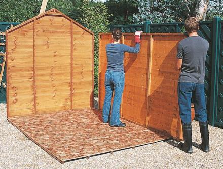 Fabriquer abris de jardin pas cher