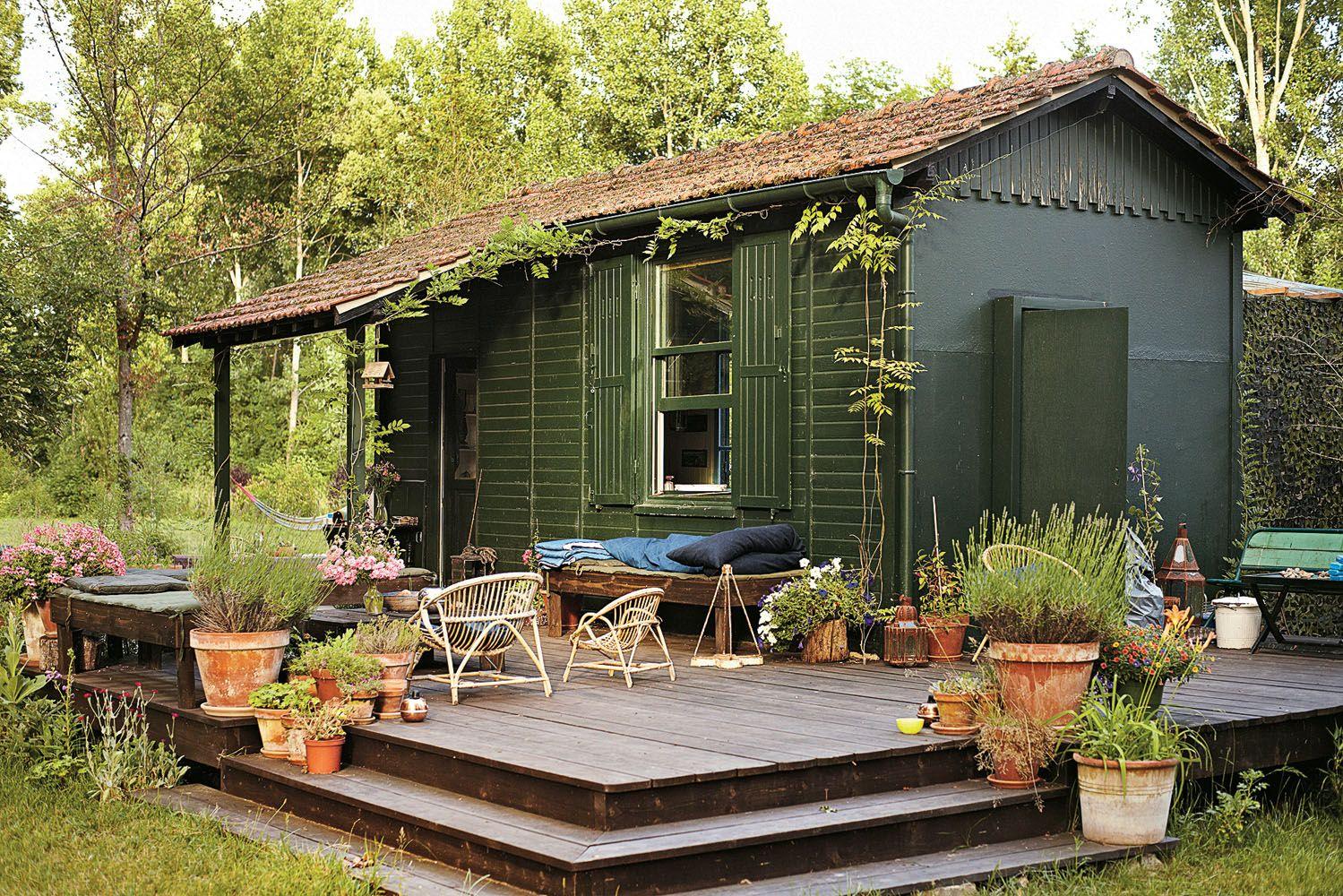 Cabane en bois fontainebleau
