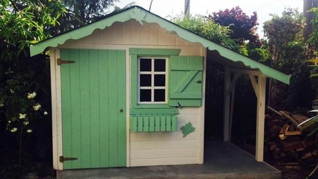 Cabane de jardin ikea