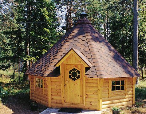 Cabane de jardin finlandaise
