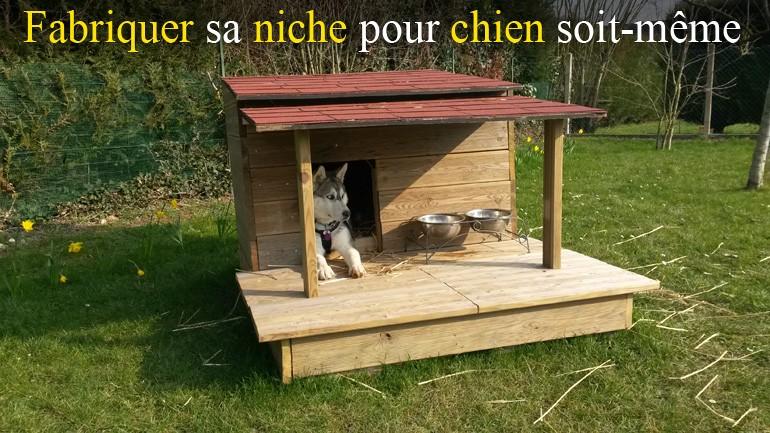 Cabane en bois pour chien