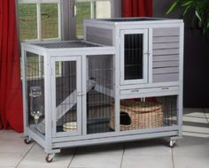 Cage a lapin meuble
