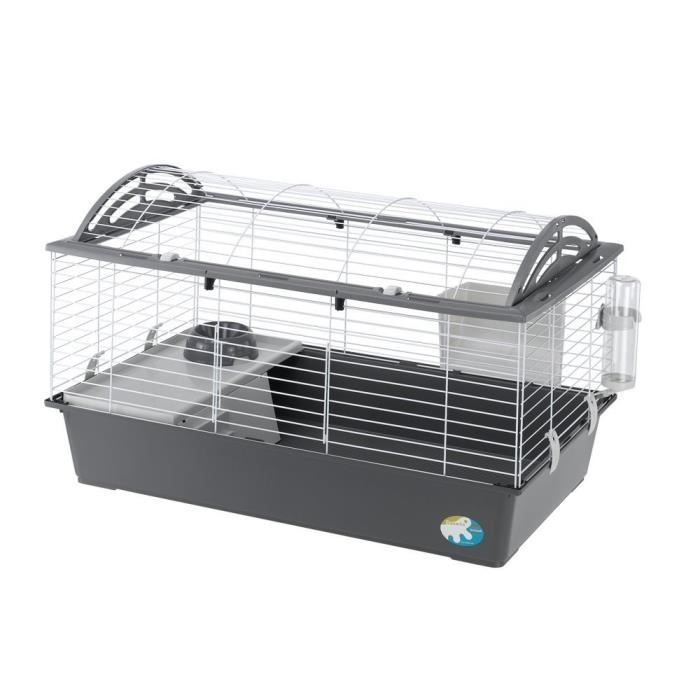 Cage a lapin blanc