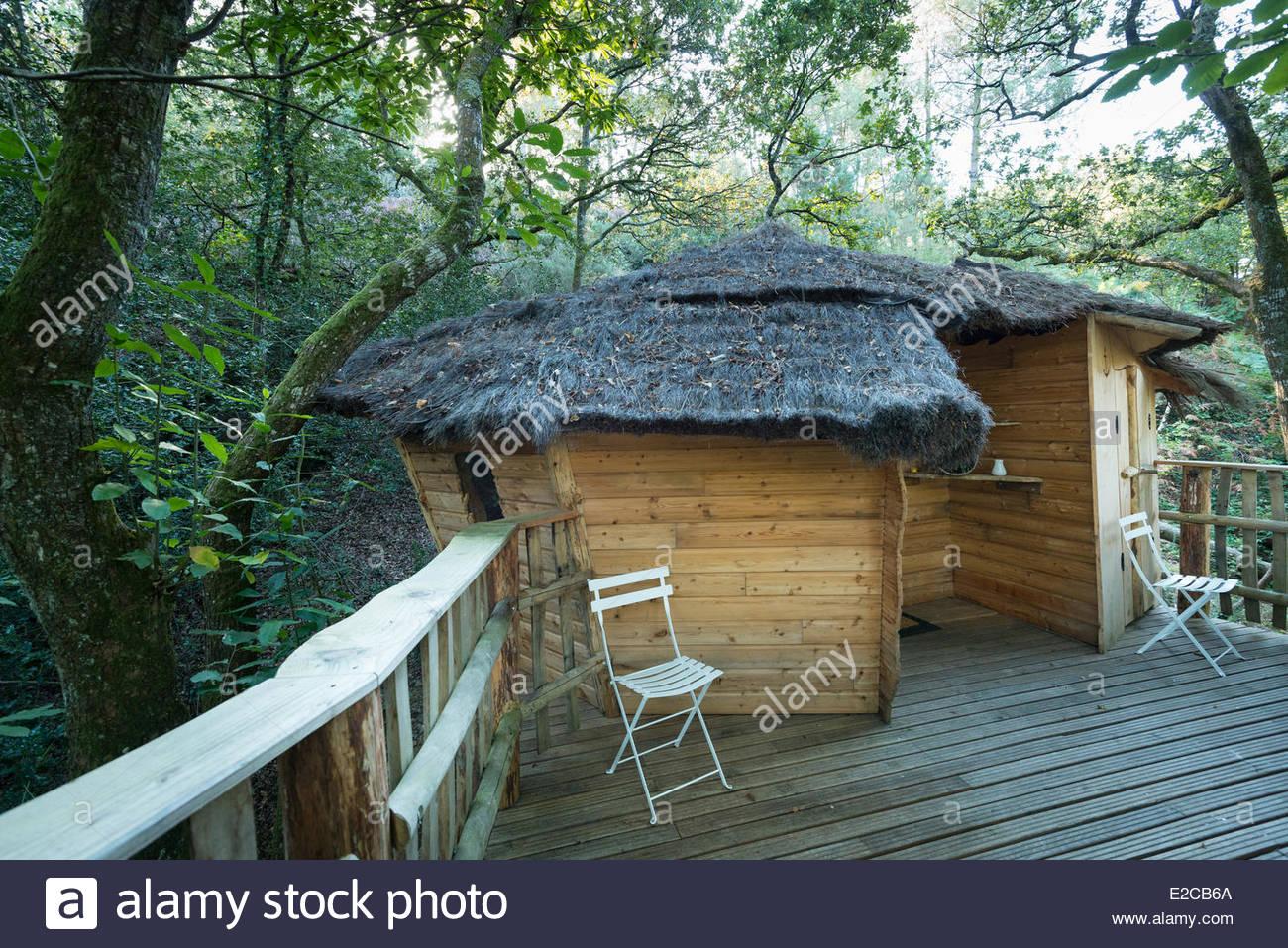 Cabane arbre nivillac