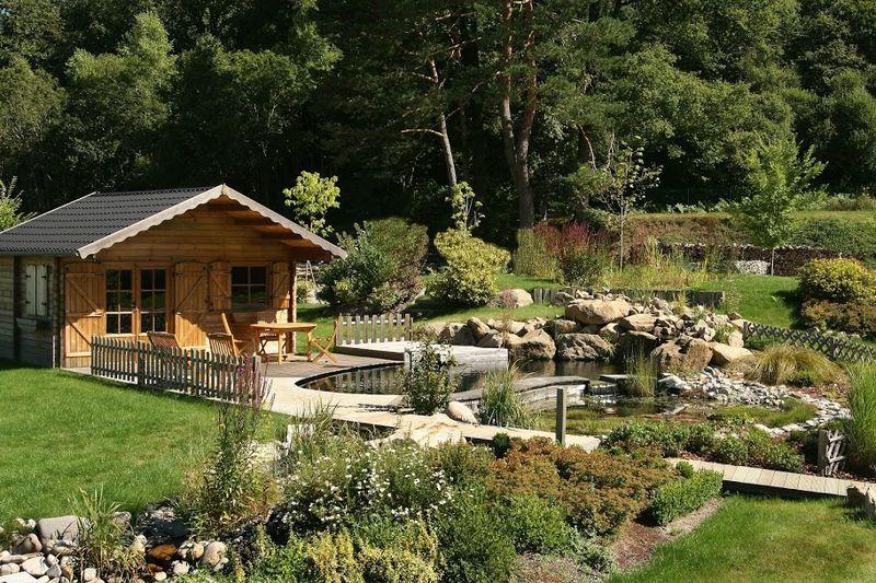 Cabane de jardin zen