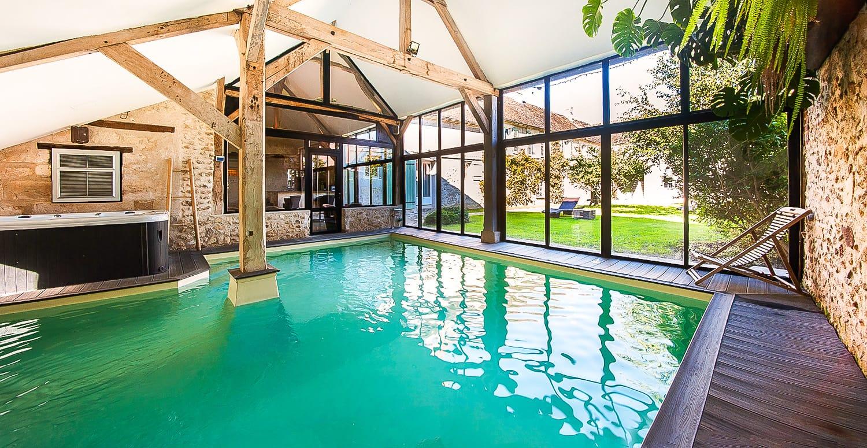 Chalet avec jacuzzi ardennes belges jardin - Hotel avec piscine seine et marne ...