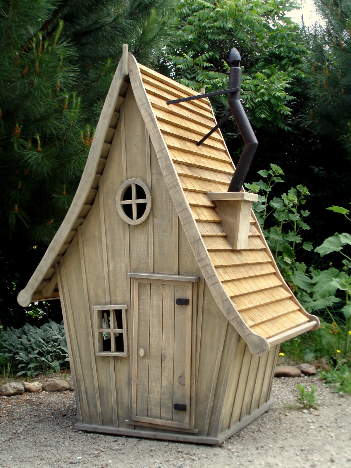 Cabane en bois gratuite - Mailleraye.fr jardin