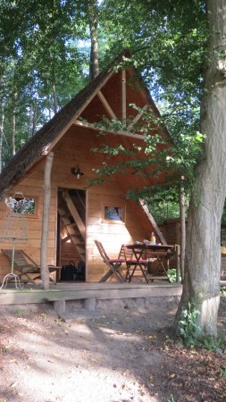 Cabane dans les bois pierrefonds