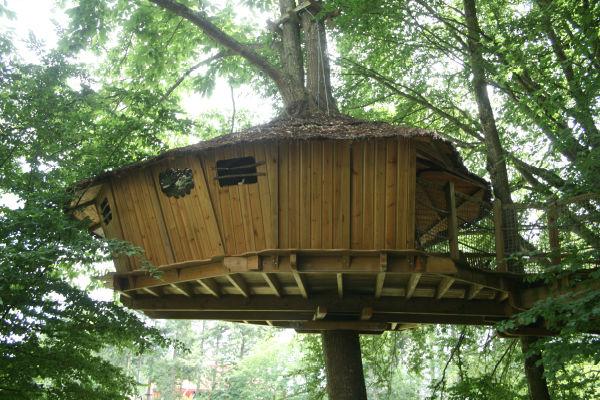 Cabane dans les bois domaine des ormes