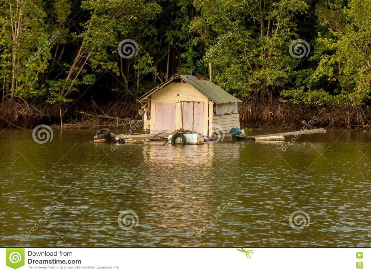 Cabane sur l'eau sud