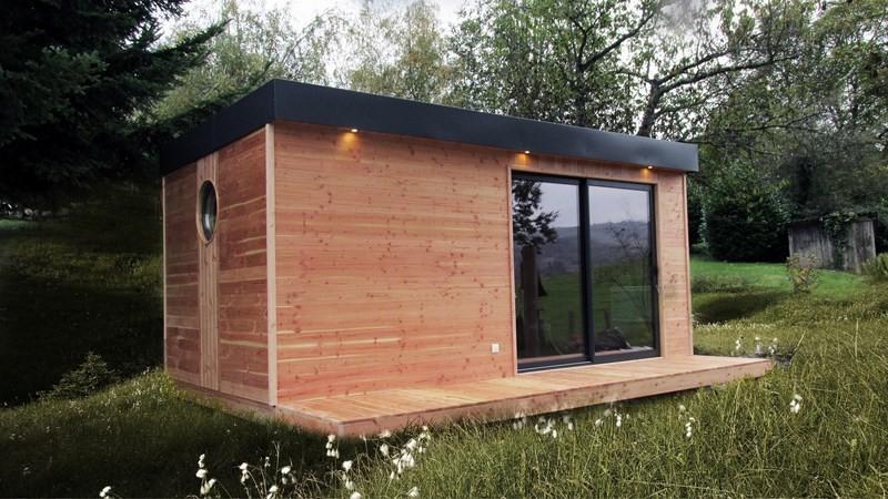 Cabane de jardin en kit