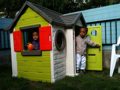 cabane de jardin smoby my house jardin. Black Bedroom Furniture Sets. Home Design Ideas