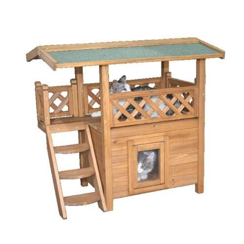 Cabane pour chat maison