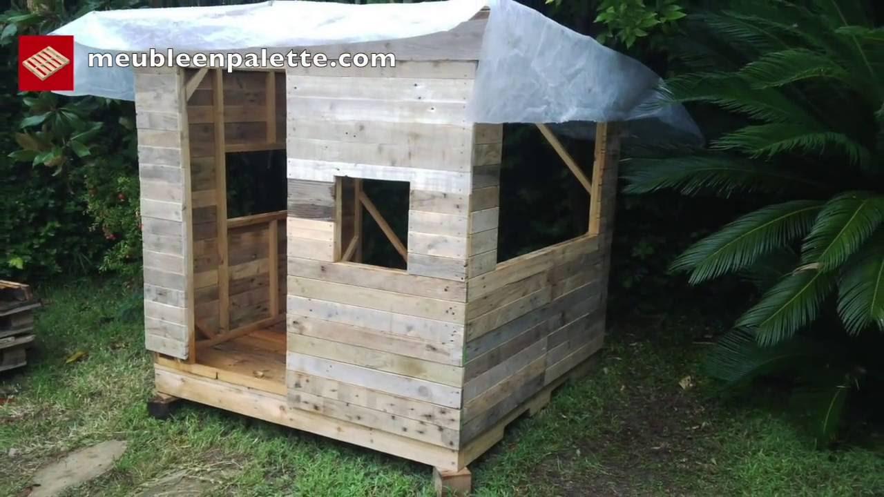 Creer une cabane en palette