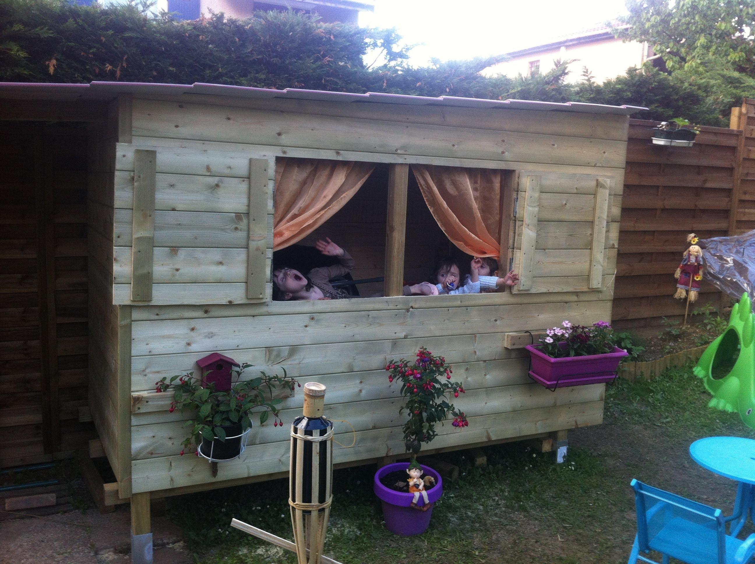 Cabane De Jardin En Palette comment faire une cabane en palette - mailleraye.fr jardin