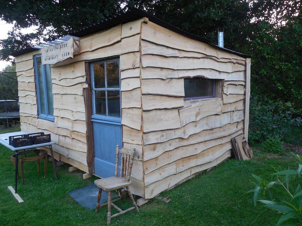 Plan cabane en bois de palette