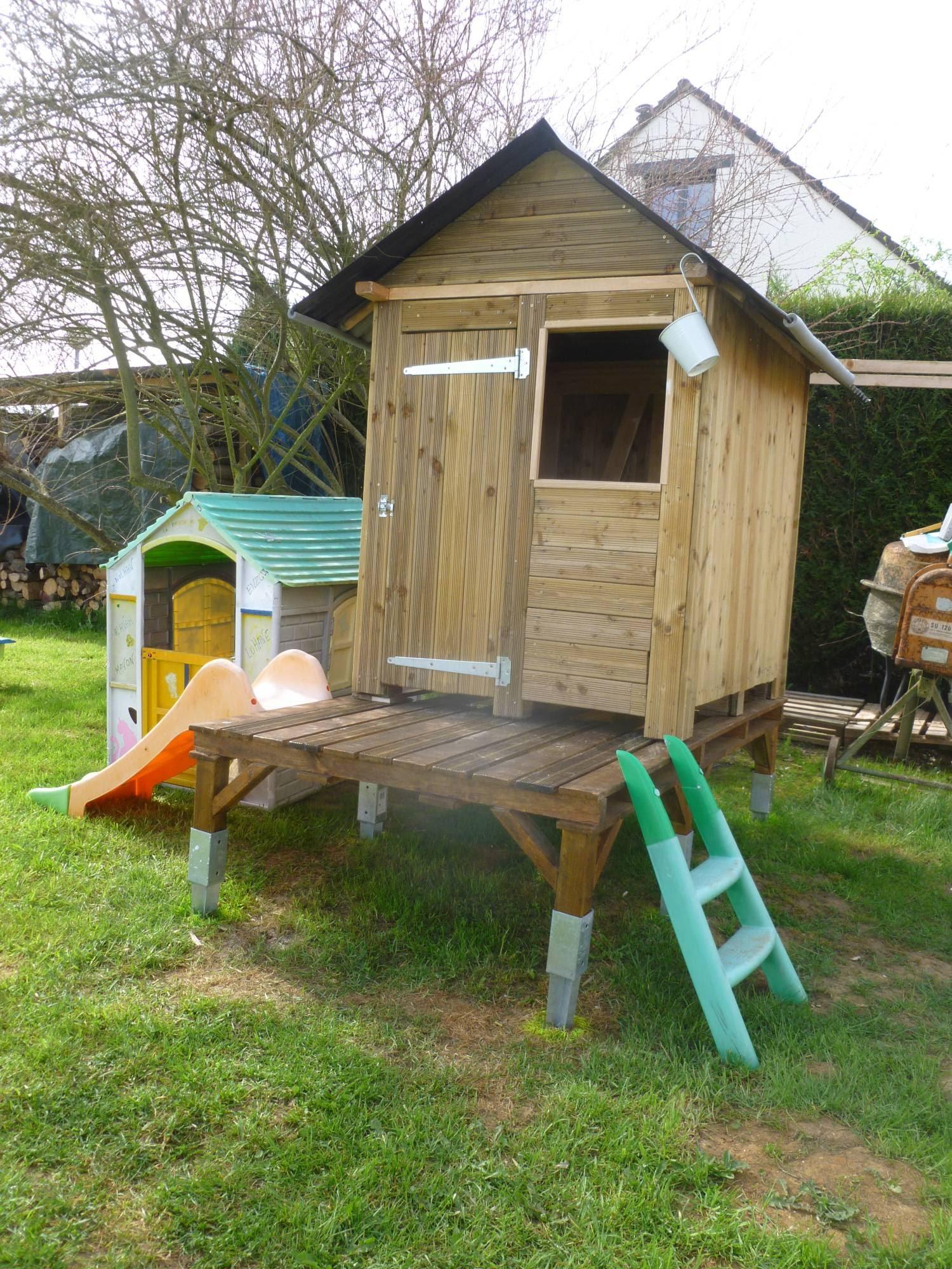 Monter une cabane en palette
