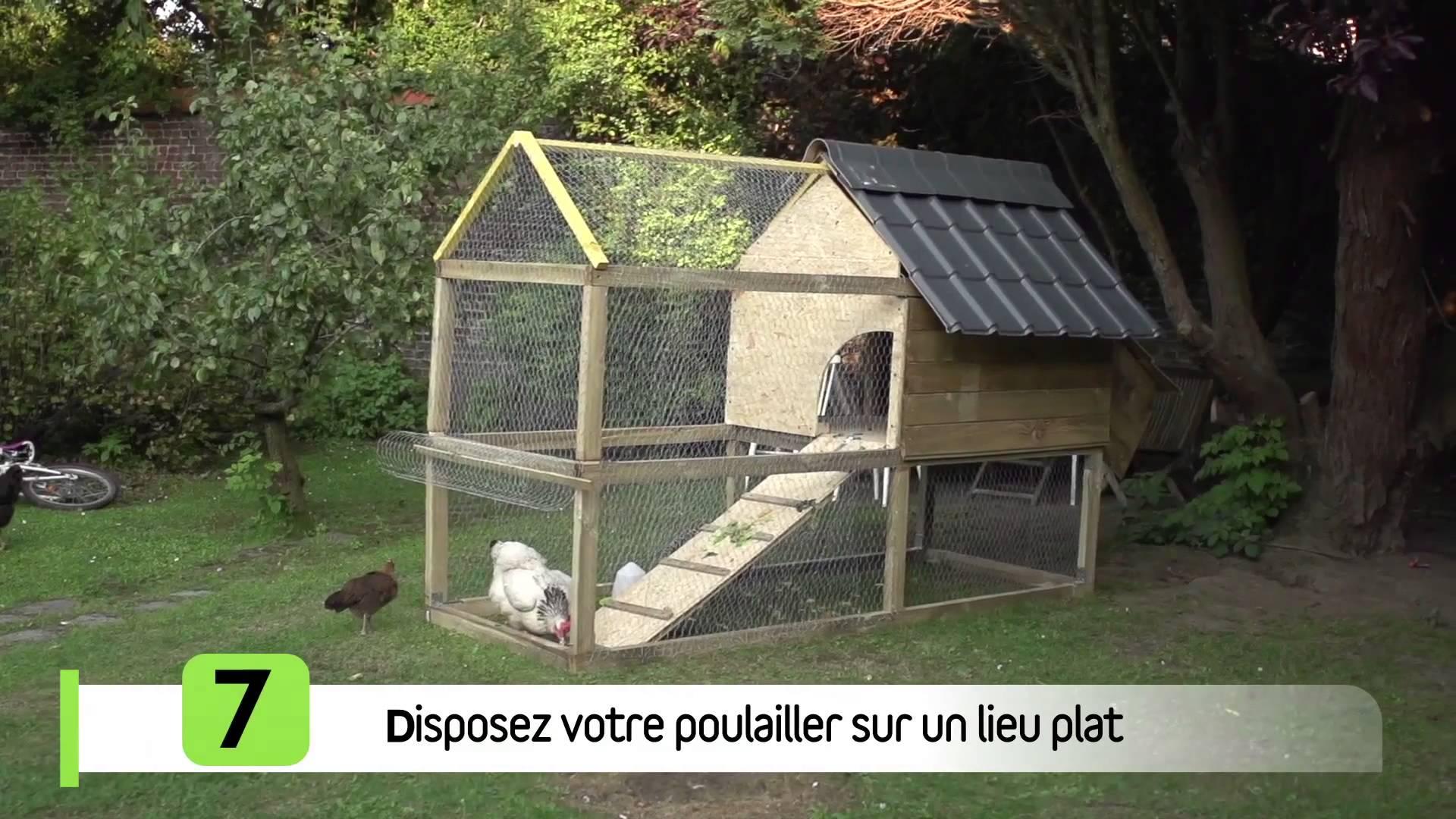 Plan de construction cabane a poule