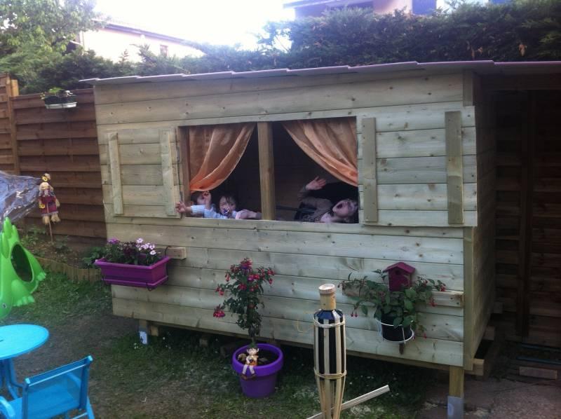 Construire une cabane en bois youtube